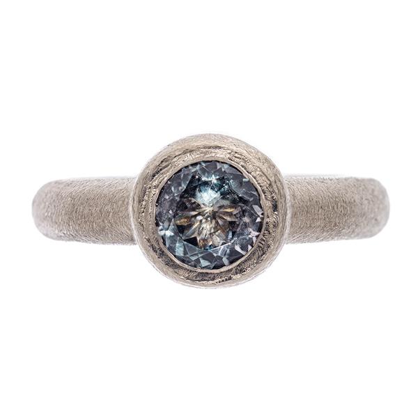 Ring: Turmalin in Weißgold