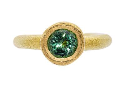 Ring - Turmalin in Gold